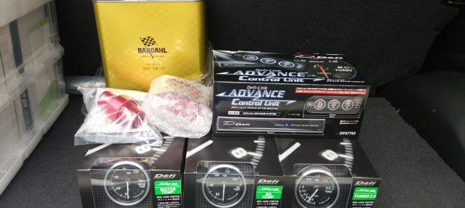 CS22S Defi-Link Meter ADVANCE RS取り付け