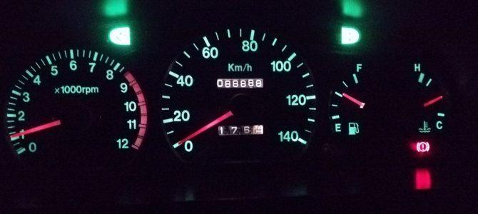CS22S 走行距離88888km到達