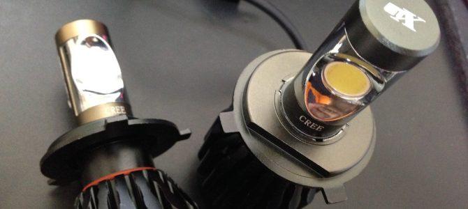 HA11S LEDヘッドライトと鍛造軽合金ナット