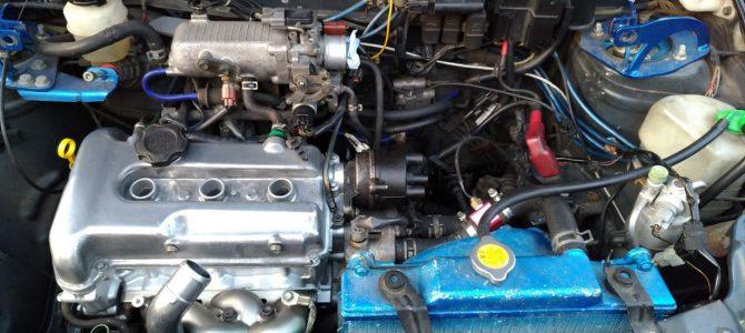 HB21S エンジンオーバーホール続き